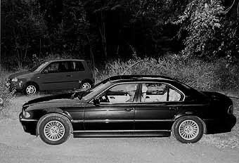 BMW 740d, Seat Arosa Vergleichstest