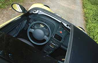 Smart Roadster, Innenraum, Cockpit