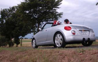 Daihatsu Copen Test, Vergleichstest