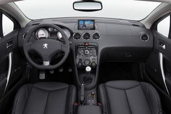 Peugeot 308 Cabrio, Innenraum