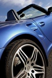 Porsche 911 Turbo, Felgen