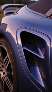 911 Cabrio Turbo, Sitzelufteinlass