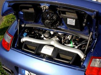 Porsche 911 Turbo Motor