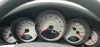 Porsche 911 S Instrumente
