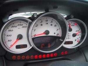 Porsche Boxster, Instrumente, Tacho