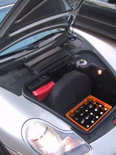 Boxster S, Kofferraum, trunk