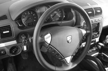 Porsche Cayenne Test, Cockpit ,Lenkrad