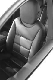 Porsche Cayenne Test, Sitze