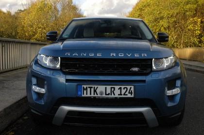 Range Rover Evoque, offroad, Test
