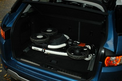 Evoque, Kofferaum, trunk, Gepäck