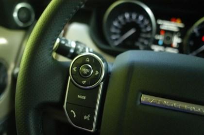 Range Rover Sport, Lenkrad