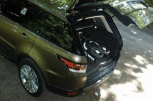 Range Sport, Kofferraum, trunk