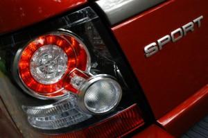 Rover Sport Diesel, Heck
