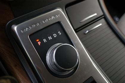 Range Rover Sport, Automatik Drehrad