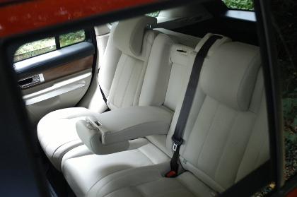 Range Rover, Sport, hinten sitzen