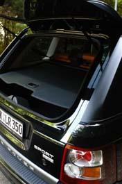 Range Rover Sport, Heckklappe