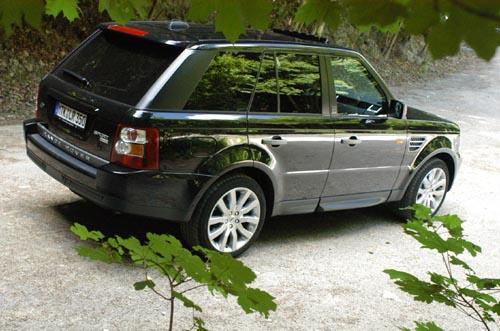Range Rover, V8 Diesel Test