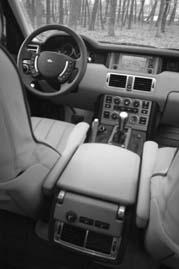 Range Rover Diesel, Cockpit