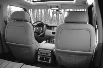 Range Rover, Test, Innenraum