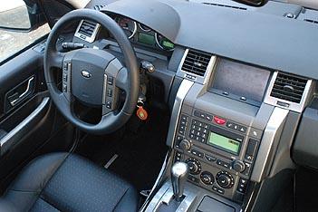 Range Rover Sport, Cockpit