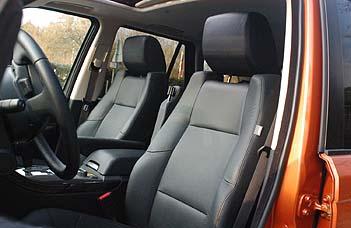 Range Rover, Sport SC, Innenraum