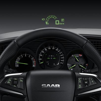 Saab 95, Headup Display