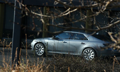 letzter Saab, die 9-5 Limousine