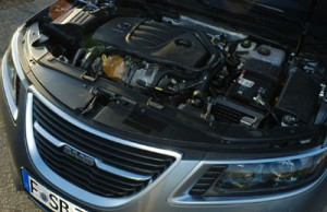 Saab 9-5, Turbomotor, engine