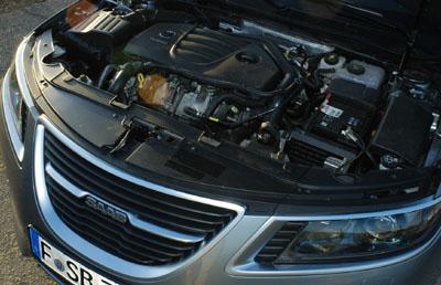 Saab 9-5, Turbomotor, engine
