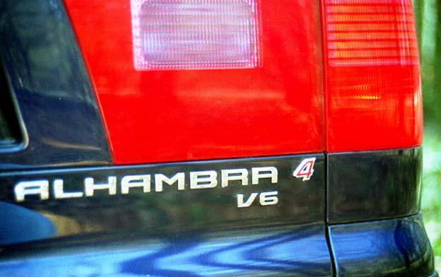 Seat Alhambra 2.8 Allrad Test: V6, 4x4, Allradantrieb