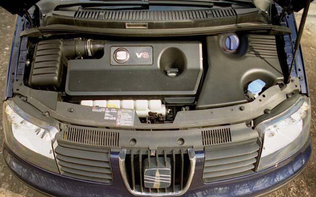 Alhambra 2.8 Sechszylinder Motor