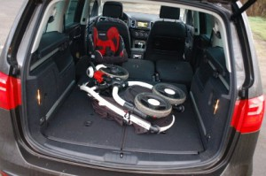 Seat Alhambra, Kofferraum, trunk, Test