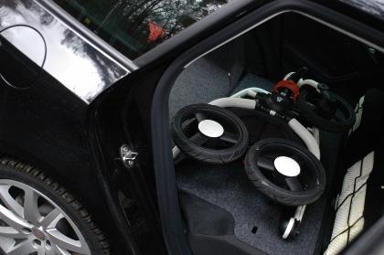 Seat Ibiza ST, Kofferraum, Test