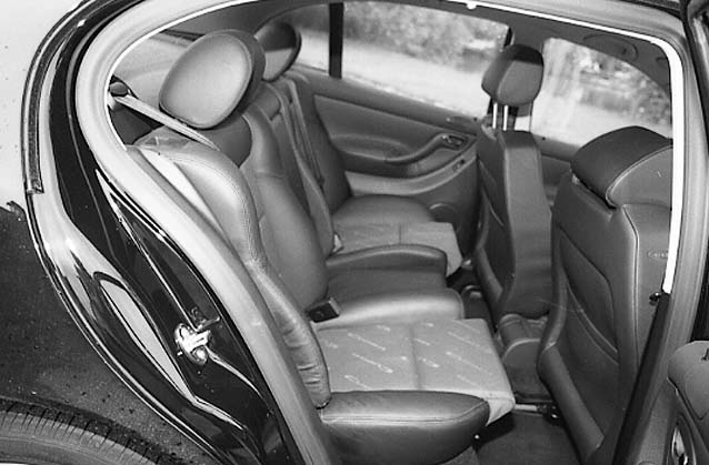 Seat Leon, hinten sitzen, Rücksitze