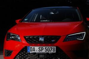 Seat Leon Cupra, Front, Scheinwerfer
