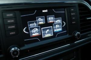 Seat Leon TDI Test, Navigation