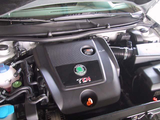 Skoda Fabia, Dieselmotor, TDi
