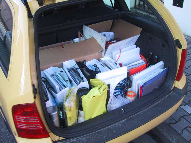 Octavia RS, Kofferraum, trunk