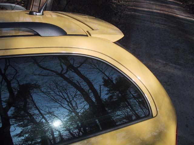 Skoda Octavia RS, Dachspoiler