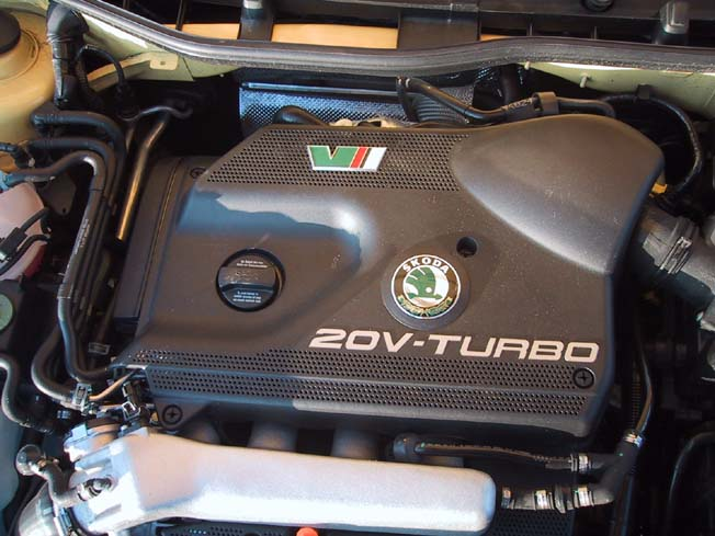 Octavia, RS, 180 PS, Motor
