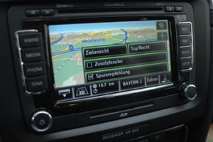 Skoda Superb, Navigation, Navi