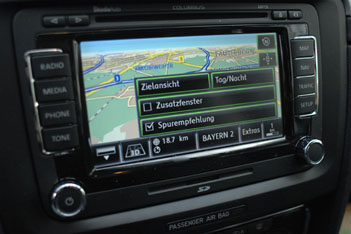 Skoda Superb, Navigation, Navi