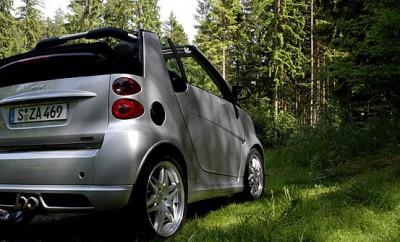 Smart Brabus, Fortwo Cabrio, Test