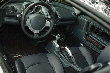 Smar,t Brabus, Roadster, Cockpit, Innenraum