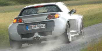 Smart, Brabus, Roadster, Test
