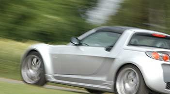 Smart Brabus Roadster Test