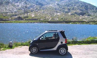 Smart Cabrio Test, Reise
