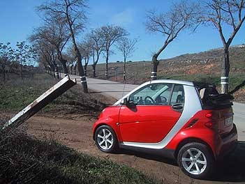 Smart Fortwo, Cabrio, Test, rot