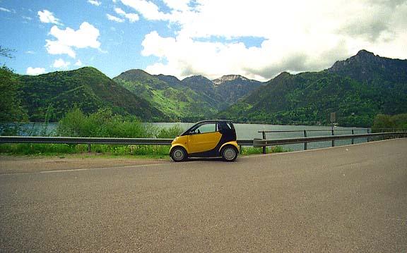 Smart Fortwo - Verreisen im Kleinwagen