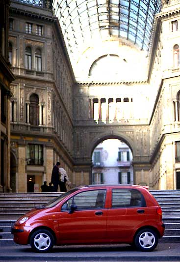 Daewoo Matiz - Verreisen im Kleinwagen